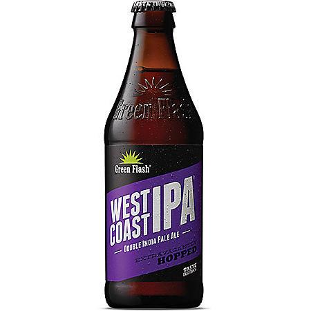 Green Flash West Coast IPA (12 fl. oz. bottle, 6 pk.)