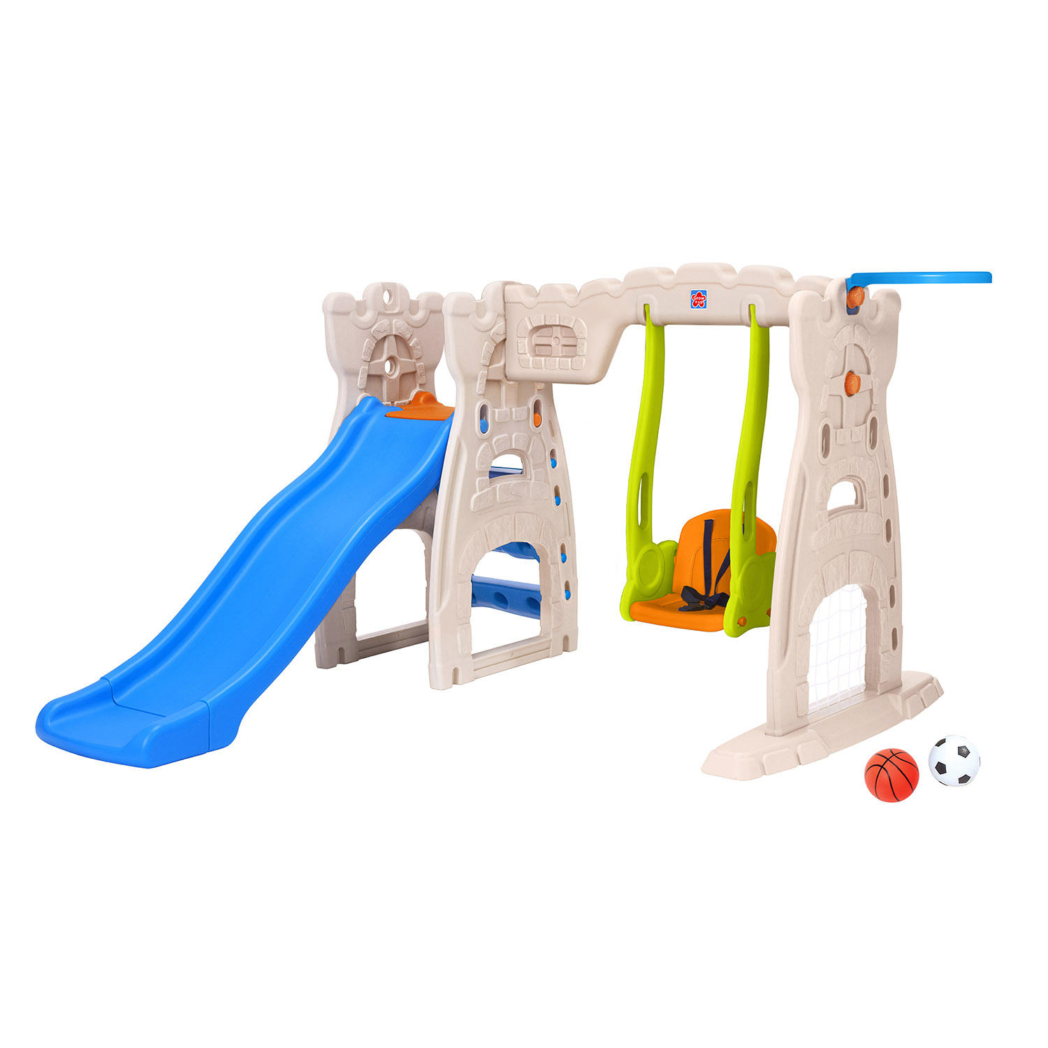 Grow N Up Limited Scramble 'N Slide Play Center