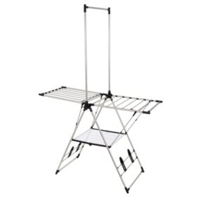 Greenway Stainless-Steel Indoor/Outdoor Large Drying Center with Mesh Shelf