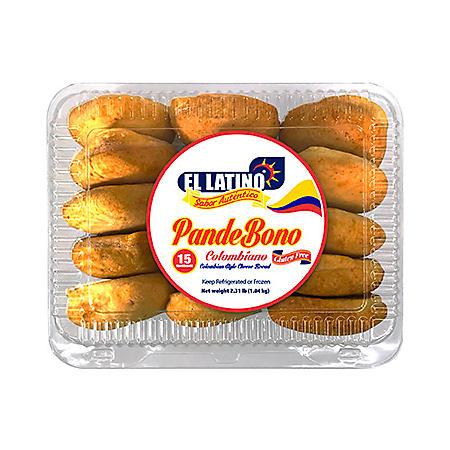 El Latino Pandebono Colombian Style Cheese Bread (15 pk.)