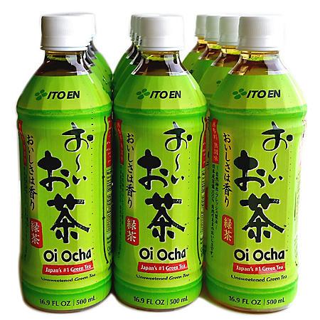Oi Ocha Green Tea (16.9oz / 12pk)