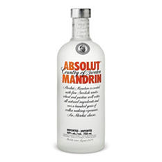 Absolut Mandrin Vodka (750 ml)
