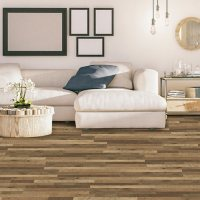 Select Surfaces Antique Brown Spill Defense Laminate Flooring