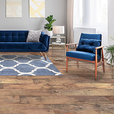Select Surfaces Barnwood SpillDefense Laminate Flooring