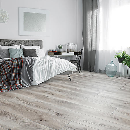 Select Surfaces Pearl Gray SpillDefense Laminate Flooring