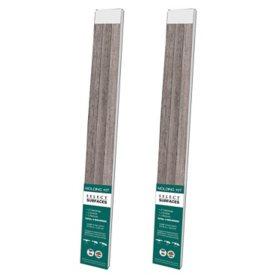 Select Surfaces Southern Gray Molding Kit (2 pk.)