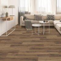 Select Surfaces Toasted Pecan SpillDefense Laminate Flooring