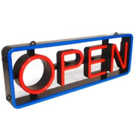 Mystiglo LED Swivel Open Sign