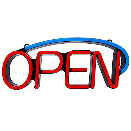 Single-Arch LED Open Sign