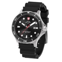 Swiss Military Men's Diving Silicone Watch