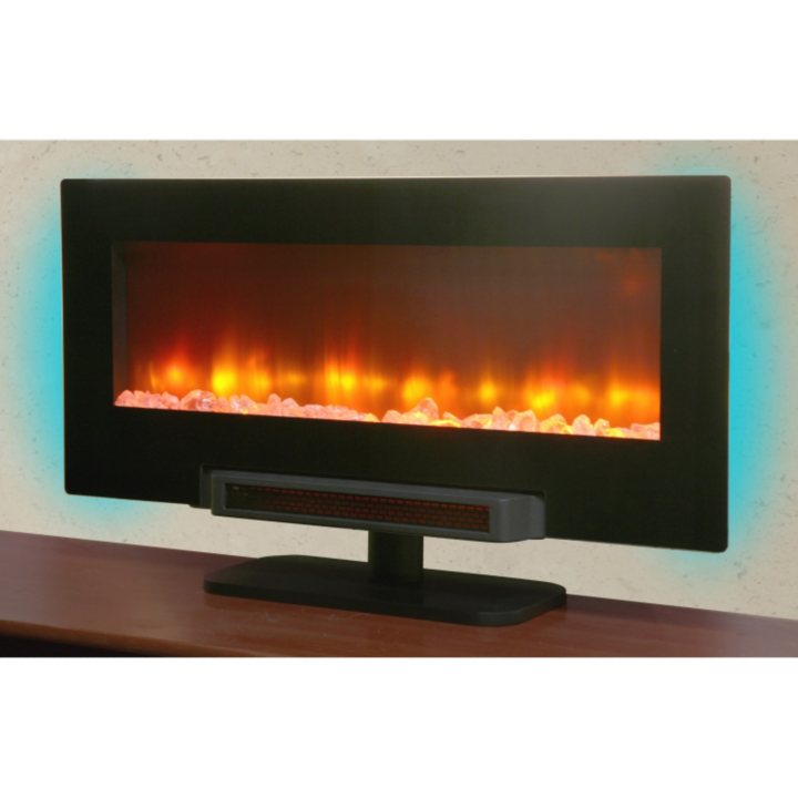 Fireplace Design sams club fireplace : Sam's Club - Grand Aspirations Electric Flat Panel Infrared Fireplace