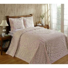Better Trends Florence Soft Cotton Chenille Bedspread (Assorted Colors and Sizes)