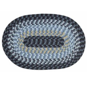 """Alpine Braided Rug, 20"""" x 30"""", Assorted Colors"""