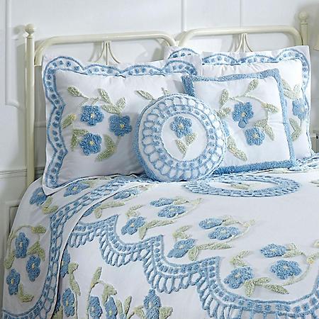 Better Trends Bloomfield Cotton Chenille Sham