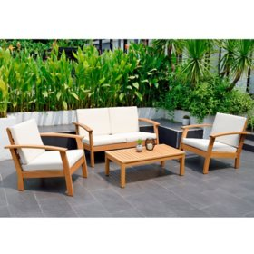Amazonia Lagon 4-Piece Conversation Set (Assorted Colors)