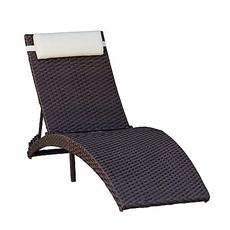 Atlantic Heber Outdoor Lounger (Assorted Colors)