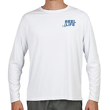 Reel Life Men's Long Sleeve UV Tee