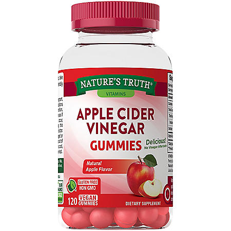 Nature's Truth Apple Cider Vinegar Gummies (120 ct.)