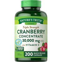 Nature's Truth Triple Strength Cranberry Concentrate 30,000 mg (200 ct.)
