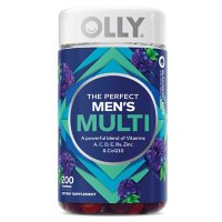 OLLY Men's Multivitamin Gummy, Blackberry Flavor (200 ct.)