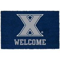 NCAA Welcome Door Mat - Xavier Gold