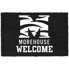 NCAA Welcome Door Mat - Morehouse College