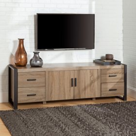 """Urban Blend 70"""" Industrial TV Stand, Assorted Colors"""