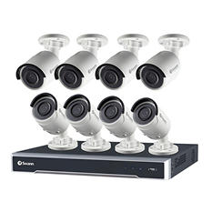 Swann 16-Channel 5MP NVR Surveillance System with 3TB Hard Drive and 8x 5MP Bullet Cameras with 100' Night Vision