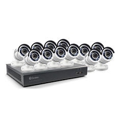 Swann 16-Channel 1080P DVR Surveillance System with 2TB Hard Drive, 12x 1080p Bullet Cameras with 100' Night Vision