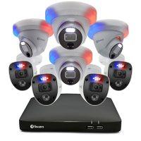 Swann Enforcer 8 Channel 1080p DVR CCTV, 8-Camera Wired Smart Security Surveillance System