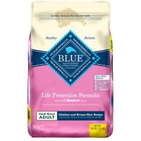 Blue Buffalo Life Protection Formula, Adult Small Breed Dry Dog Food, Chicken & Brown Rice Recipe (26 lbs.)