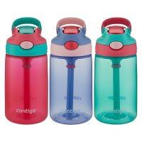 Contigo Kids 14-oz. Gizmo AutoSpout Water Bottle, 3 Pack (Assorted Colors)