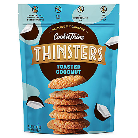Thinsters Toasted Coconut Cookie Thins (16 oz.)