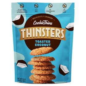 Thinster's Toasted Coconut Cookie Thins (16oz.)
