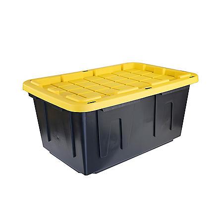 Tough Box 27-Gallon Storage Tote