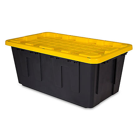Tough Box 40-Gallon Storage Tote