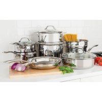 Viking 13-Piece Tri-Ply Cookware Set