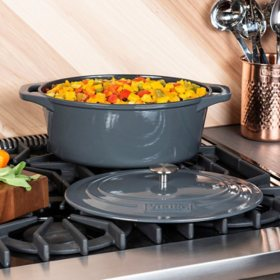 Viking 7-Quart Enamel Coated Cast Iron Dutch Oven/Roaster (Assorted Colors)