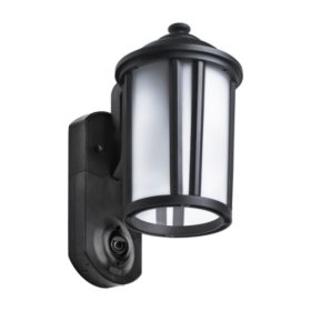 Maximus Traditional Smart Security Light- Textured Black