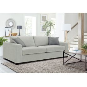Cole & Rye Stain-Resistant Fabric Sofa