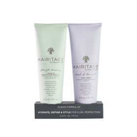 Hairitage Curl Defining Crème and Leave-in Conditioner Pudding Duo