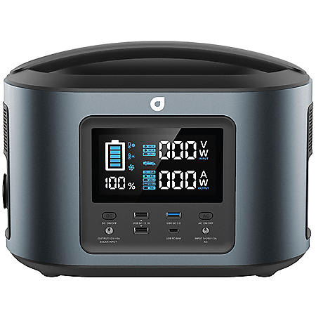 Aviva - 470Wh Portable Power Station with LCD Display
