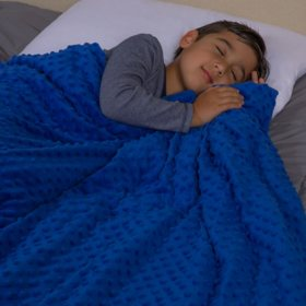 Swift Home Kids Weighted Blanket With Removable Cover 5-10lbs (Assorted Colors)