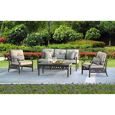 Sunjoy Catelynn 4-Piece Deep Seating Set