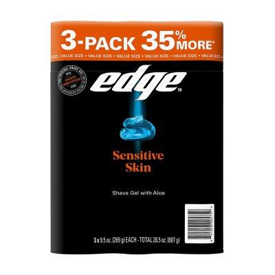 New 6 Pack Edge Shaving Cream