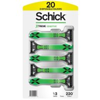 Schick Xtreme 3 Disposable Razors (20 ct.)