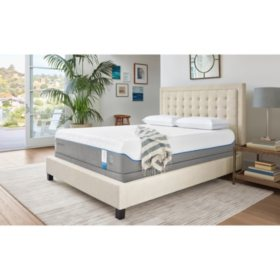 brand new 88137 69cb2 TEMPUR-Cloud Supreme Breeze Full Mattress Set - Sam's Club