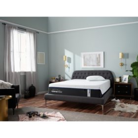 """TEMPUR-LuxeAdapt Soft Pressure-relieving and Ultra-conforming 13"""" Split King Mattress"""