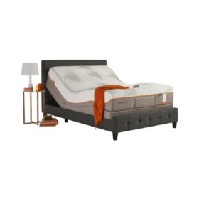 TEMPUR-Pedic Contour Elite Queen Mattress and TEMPUR-Ergo Premier Adjustable Base Set