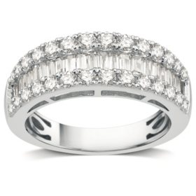 1.50 CT. T.W. Diamond Band in 14K White Gold
